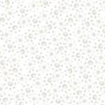 QT Fabrics Ashley - Grijs op Wit
