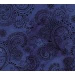 QT Fabrics Avalon - Donker Blauw