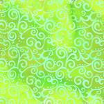 QT Fabrics Ombre Scroll - Lime