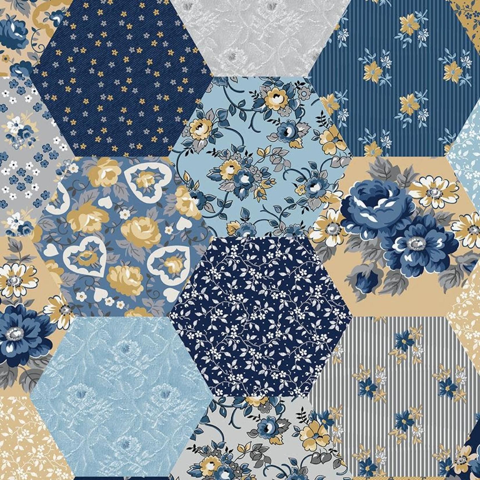 Riley Blake Designs Delightful Patchwork - Multi