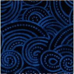 Wilmington Prints Dotty Waves - Blue