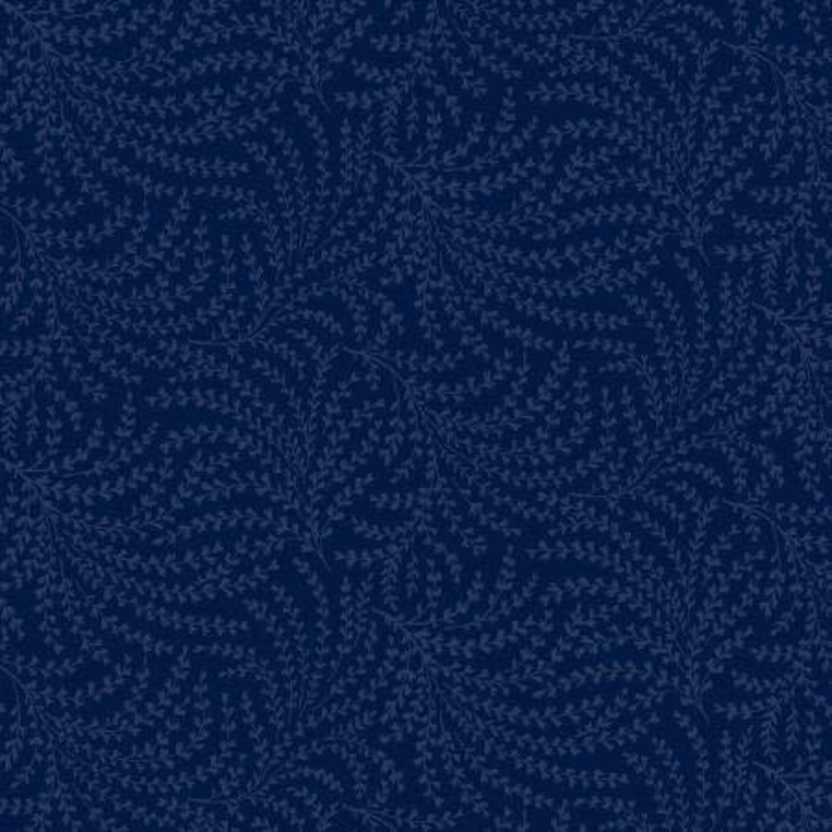 Windham Fabrics Fern - Blauw