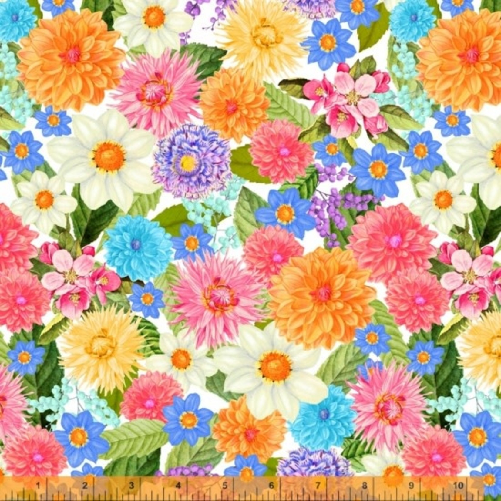 Windham Fabrics Flower Bed - Multi