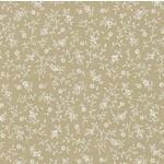 Basic Palette Bargains Tone on Tone - Mini Flower - Teastain/White