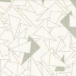 Basic Palette Bargains Tone on Tone - Triangles - White/Gray