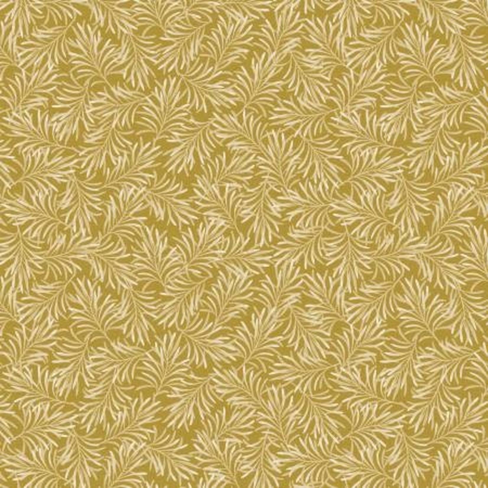 Benartex Studio Boughs of Beauty - Gold