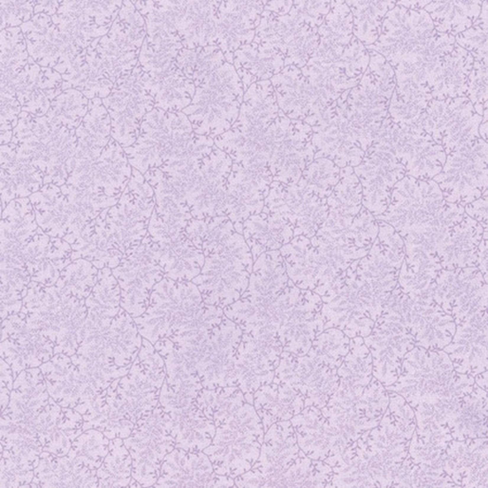 Benartex Studio Delicate Vines -  Lilac