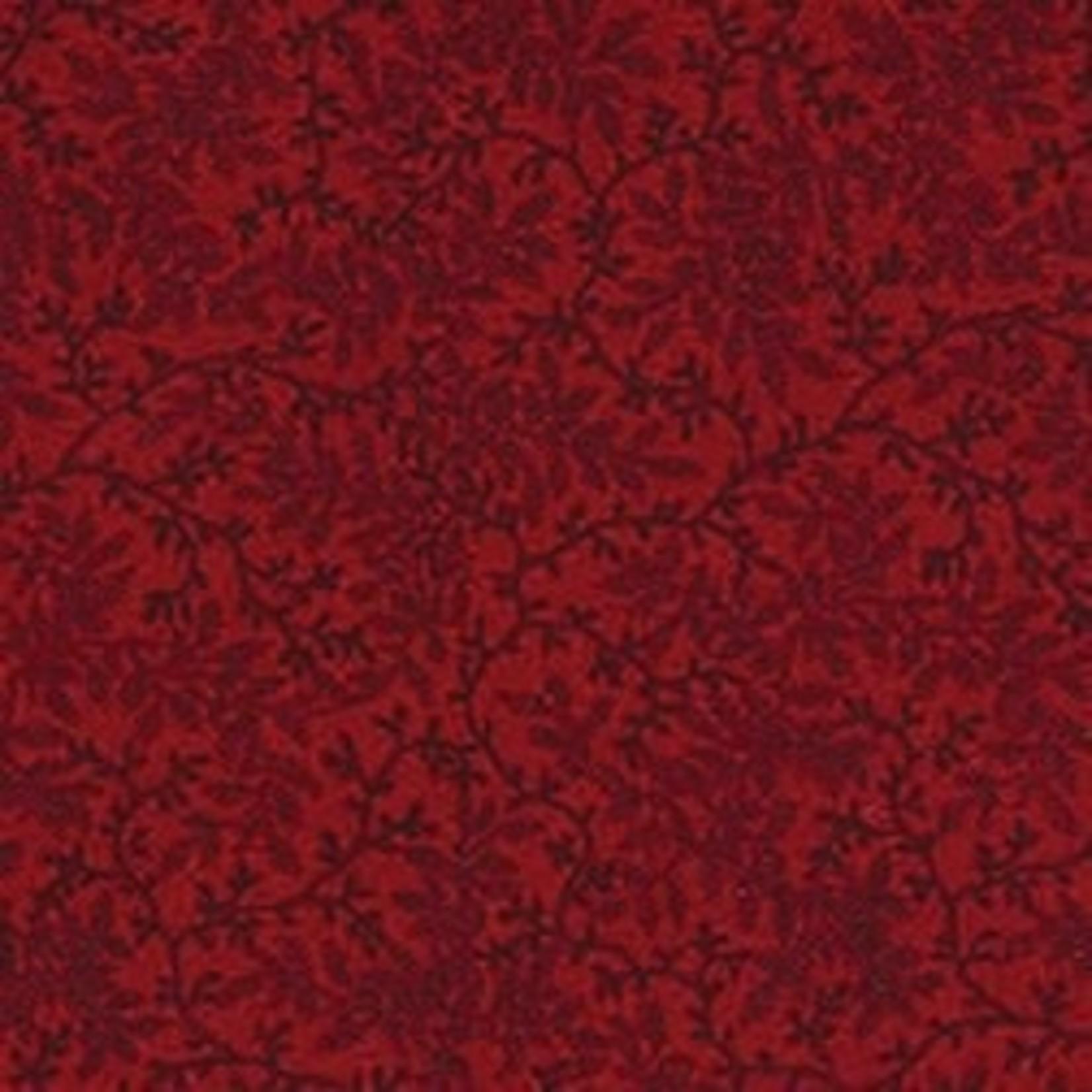 Benartex Studio Delicate Vines - Antique Red