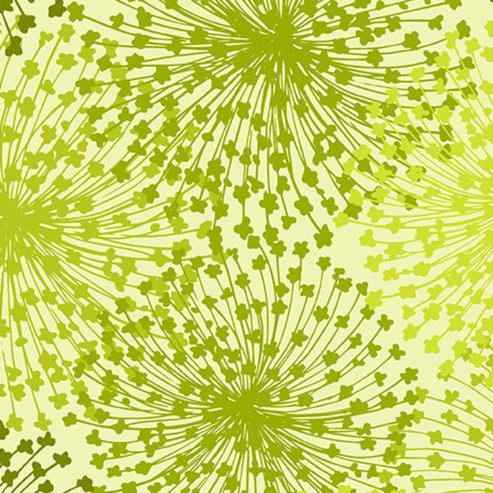Benartex Studio Dandelion Dreams - Chartreuse