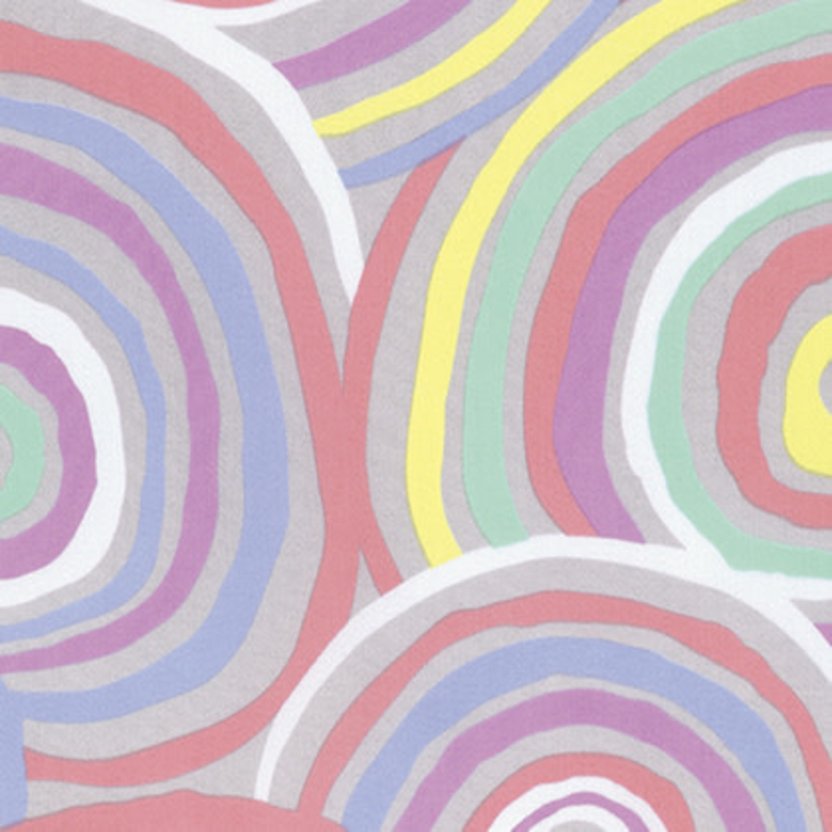 FreeSpirit Fabrics Circles - Pastel