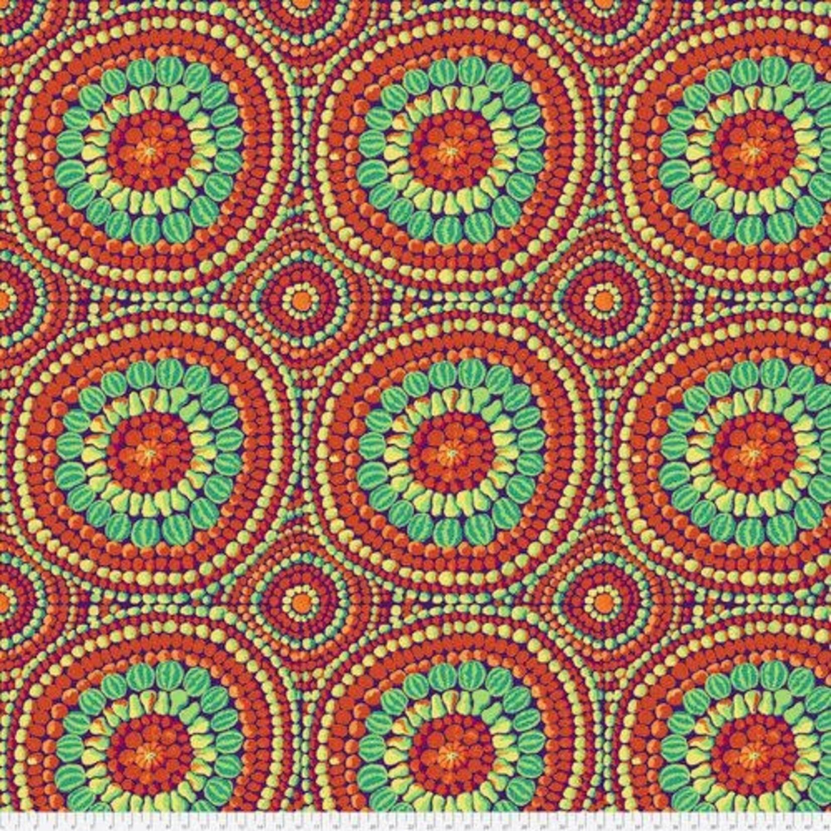 FreeSpirit Fabrics Mandela - Red