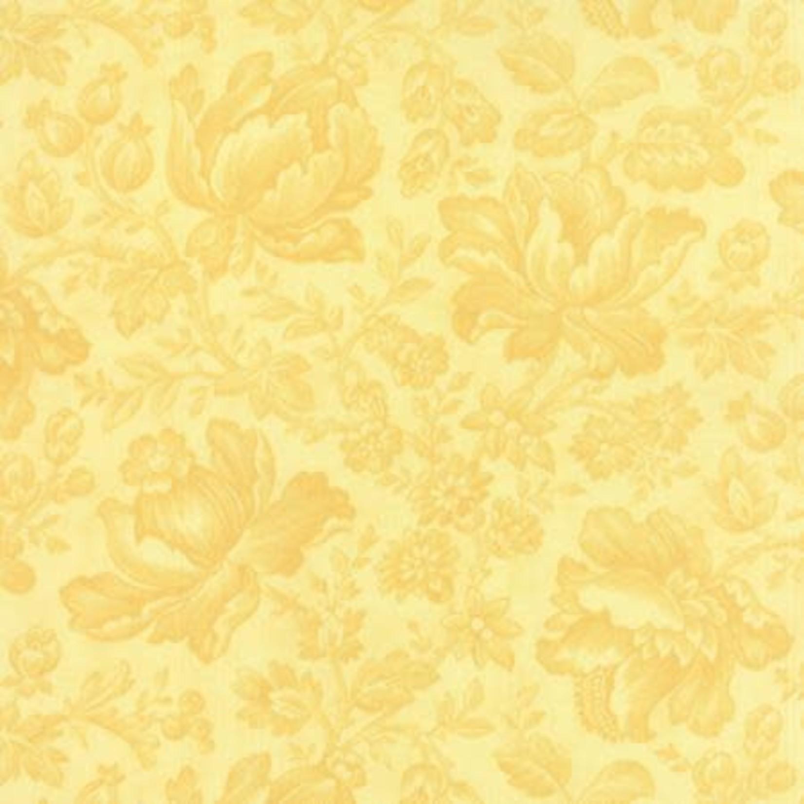 Moda 3 Sisters - Whitewashed Cottage - Daffodil