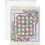 Judy & Bradley Niemeyer Kaart met Envelop - Flowers for my Wedding Ring