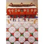 Barker Quiltscapes Kaart met Envelop - Happy Hollidays - Set van 10