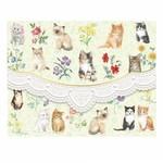 For Art Sake Kaart met Envelop - Kittens