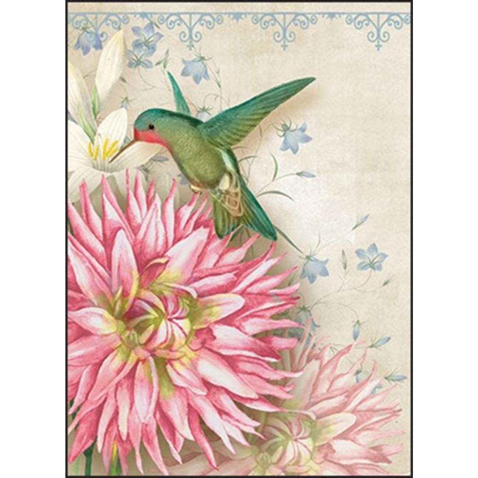 Kaart met Envelop - Kolibri