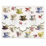 For Art Sake Kaart met Envelop - Tea Cups