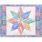 For Art Sake Kaart met Envelop - Star Quilt