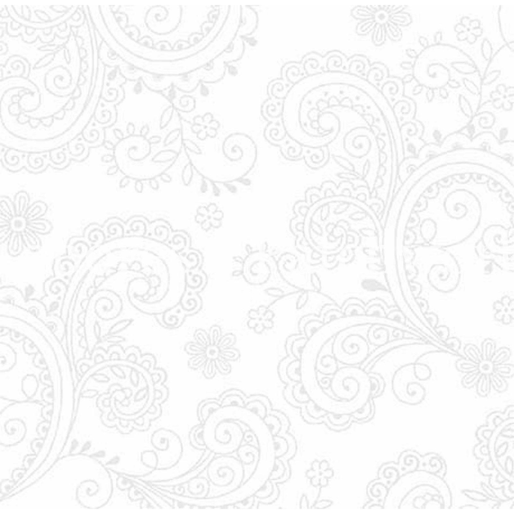 QT Fabrics Avalon - Wit