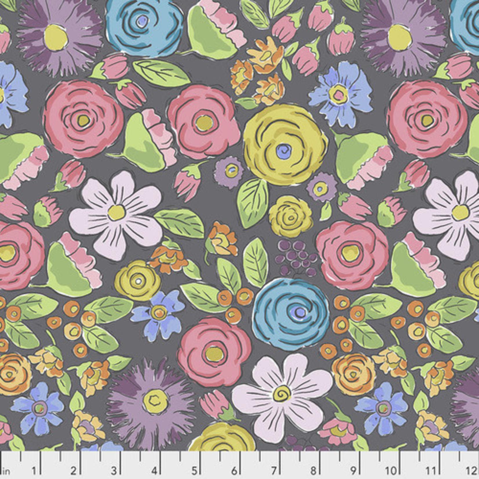 Laura Heine Color Fusion - Bouquet - Charcoal
