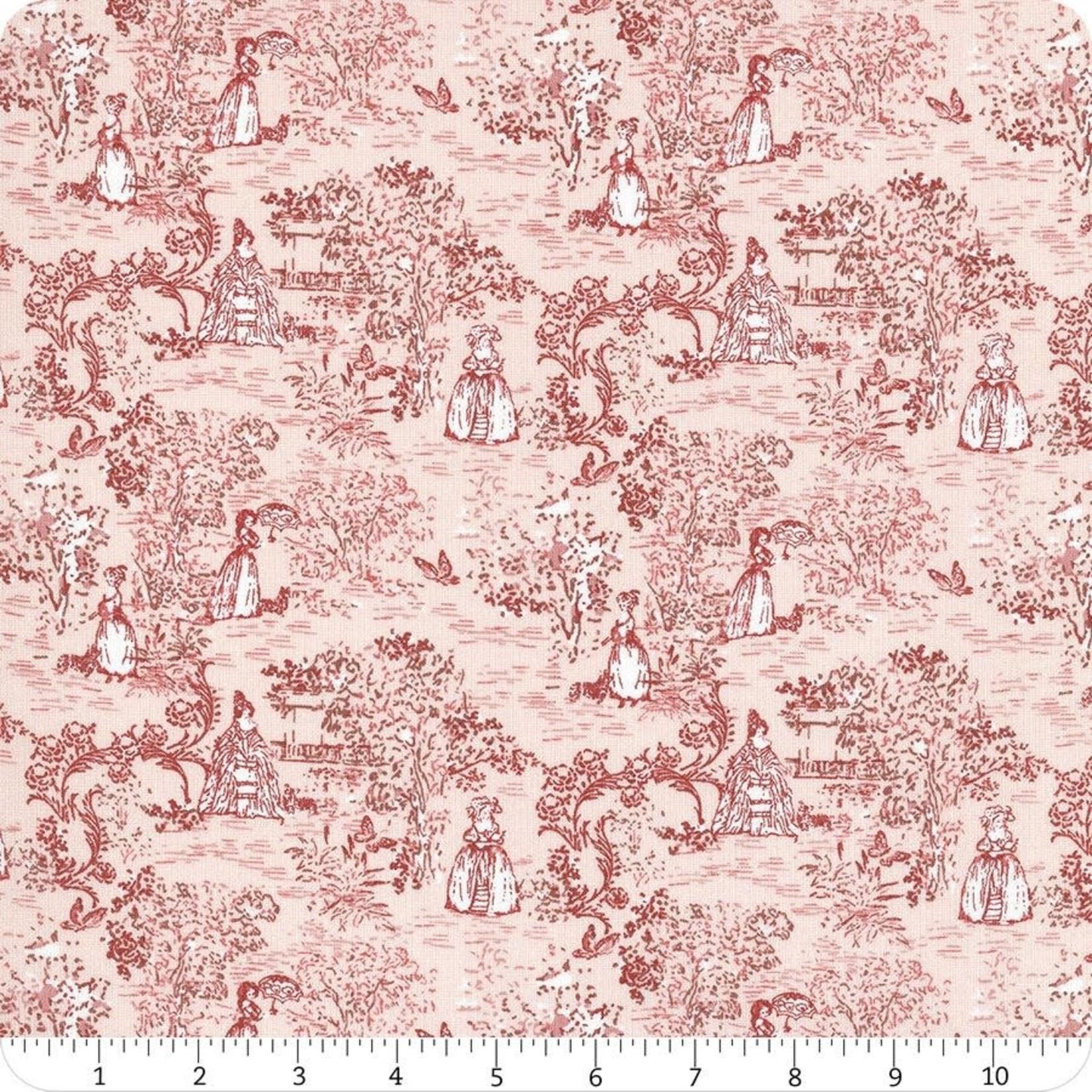 Lecien Fabrics Madame Fleur - Pink