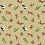 Lewis & Irene Small Things - World Animals - Cream