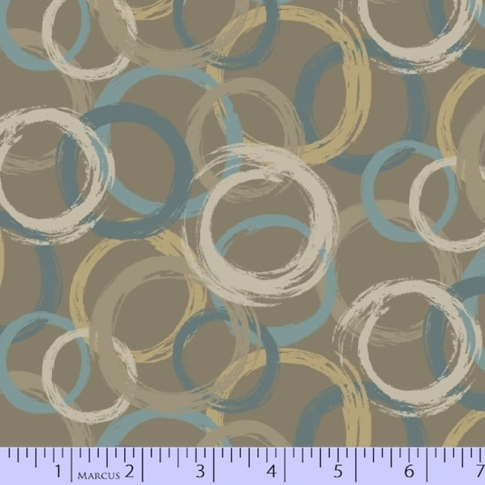 Marcus Fabrics In The Round - Large Rings - Brown