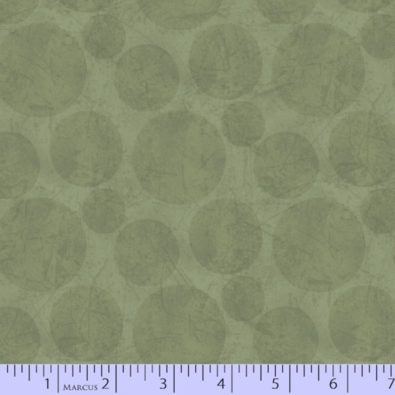 Marcus Fabrics In The Round - Tonal Dots - Green