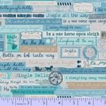 Marcus Fabrics Songbook Jingles - Blue