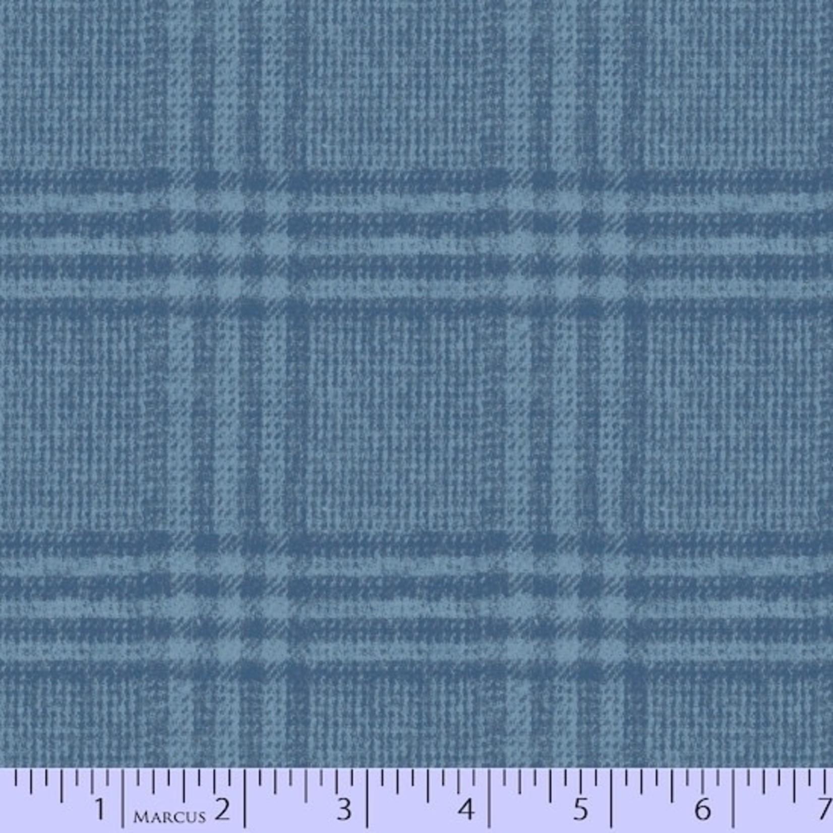 Marcus Fabrics Flannel Blues - Light Blue