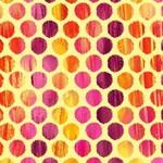 Kanvas Studio Sunburst - Fuzzy Dot - Butter