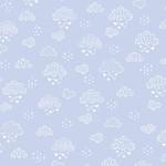 Kanvas Studio Sweet Drems - Dreamy Clouds - Soft Blue