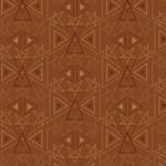 Henry Glass Fabrics Best Of Days - Star Geo - Rust