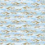 Henry Glass Fabrics Coastal Paradise - Vogels op Blauw