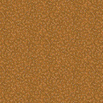 Blank Quilting Barn Dance - Twig With Dots - Gold