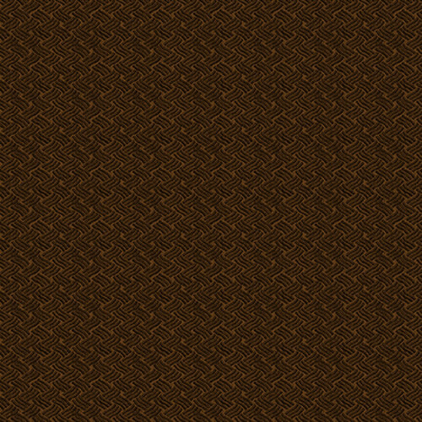 Blank Quilting Barn Dance - Wave Texture - Brown