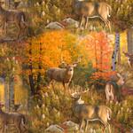 Elizabeth's Studio Autumn Surprise - Scenic Multi