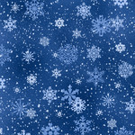 Elizabeth's Studio Landscape Medley - Snowflakes Royal
