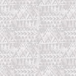 Blank Quilting Tessellations Twice - Triangle Geo - Gray