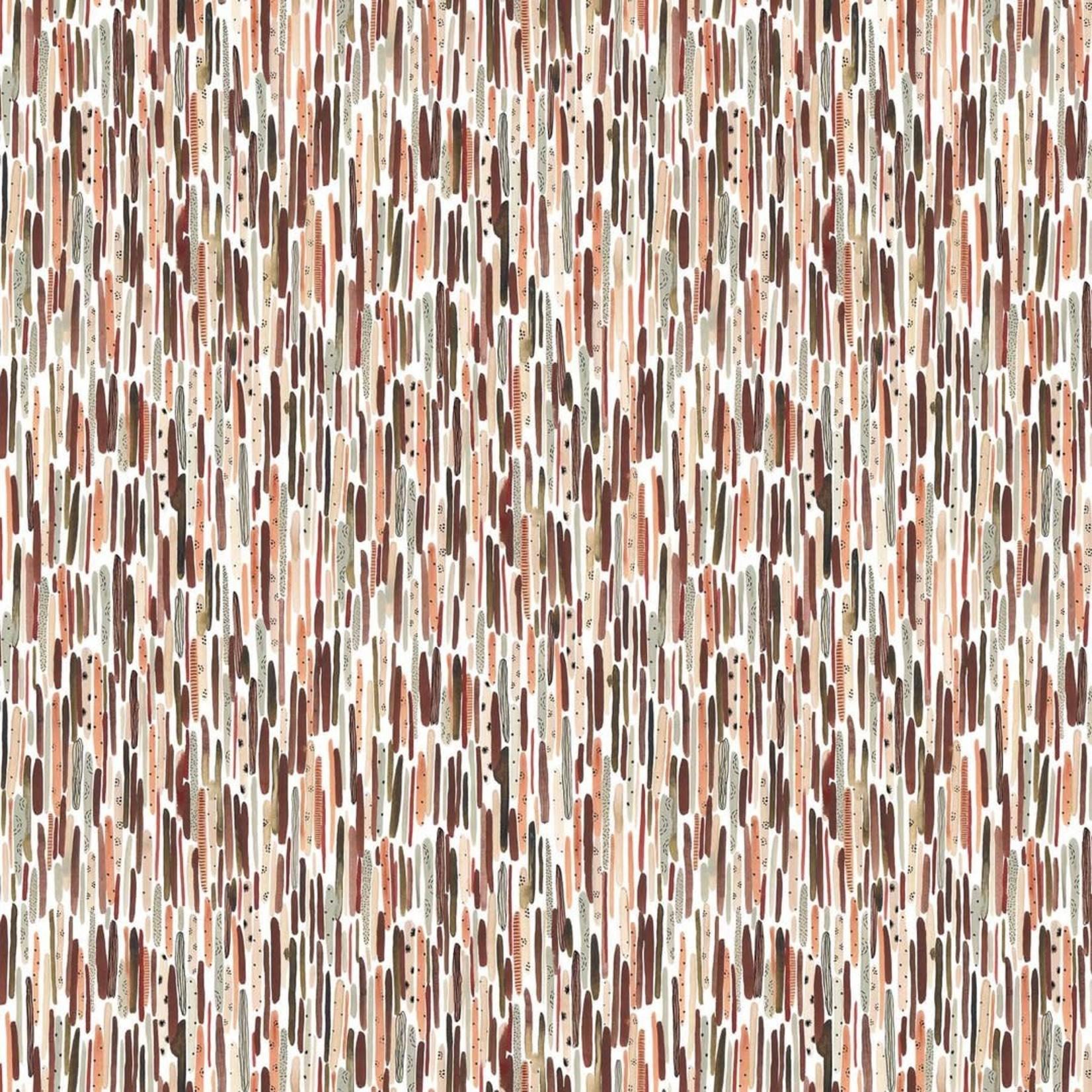 Figo Fabrics After The Rain - Multi Stripe