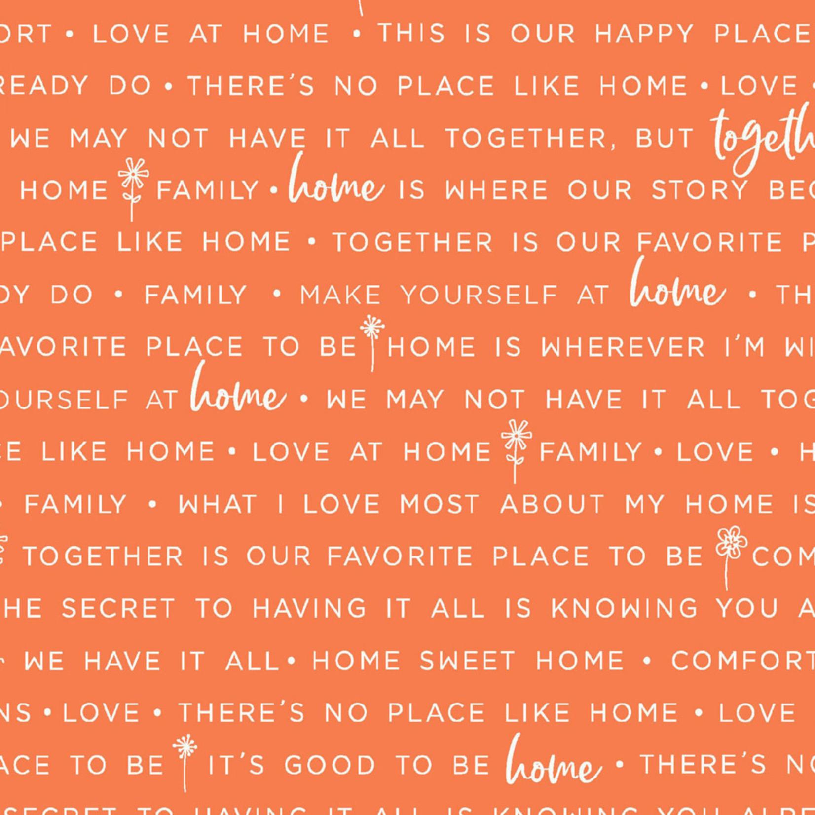 Maywood Studio Make Yourself at Home - Phrases - Orange
