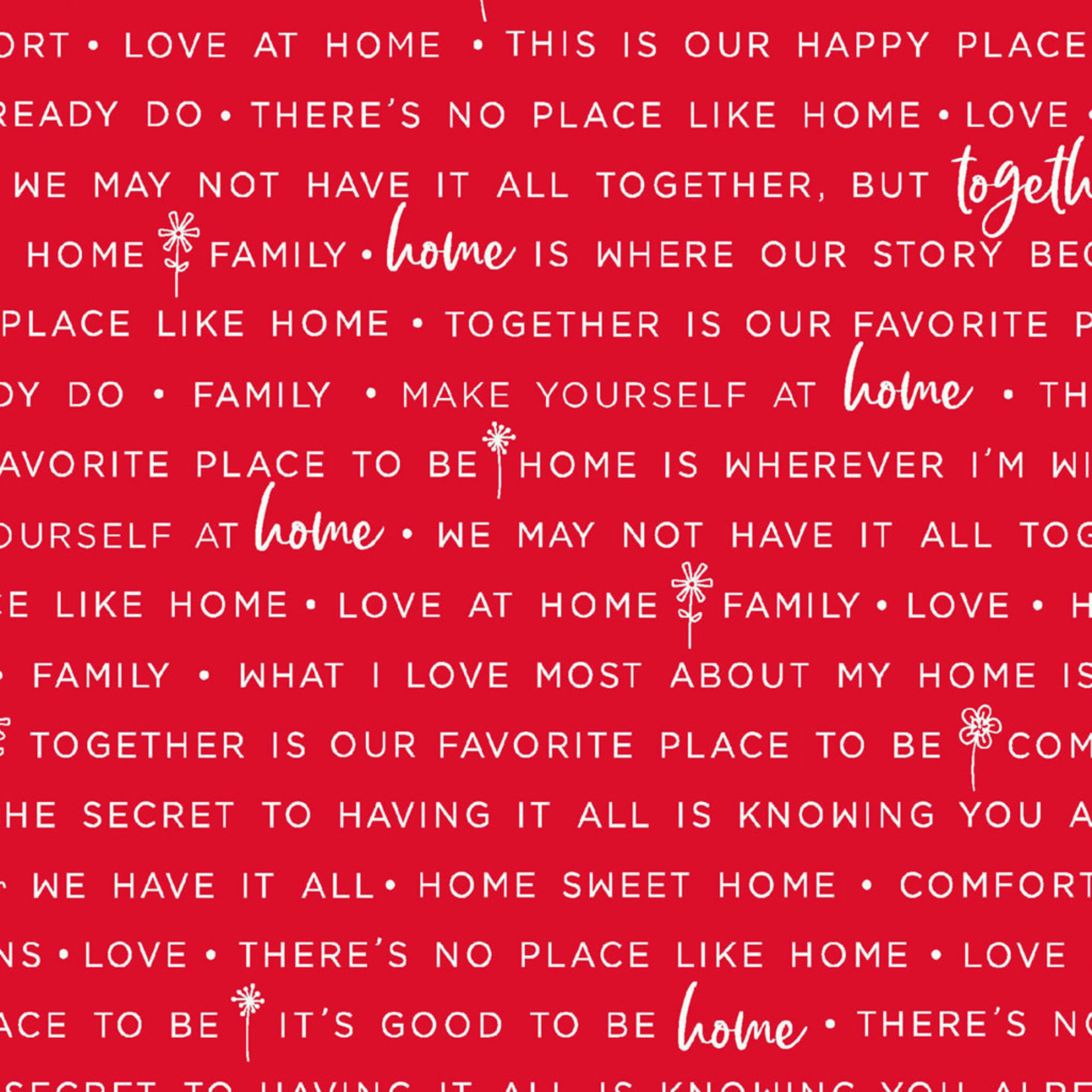 Maywood Studio Make Yourself at Home - Phrases - Red