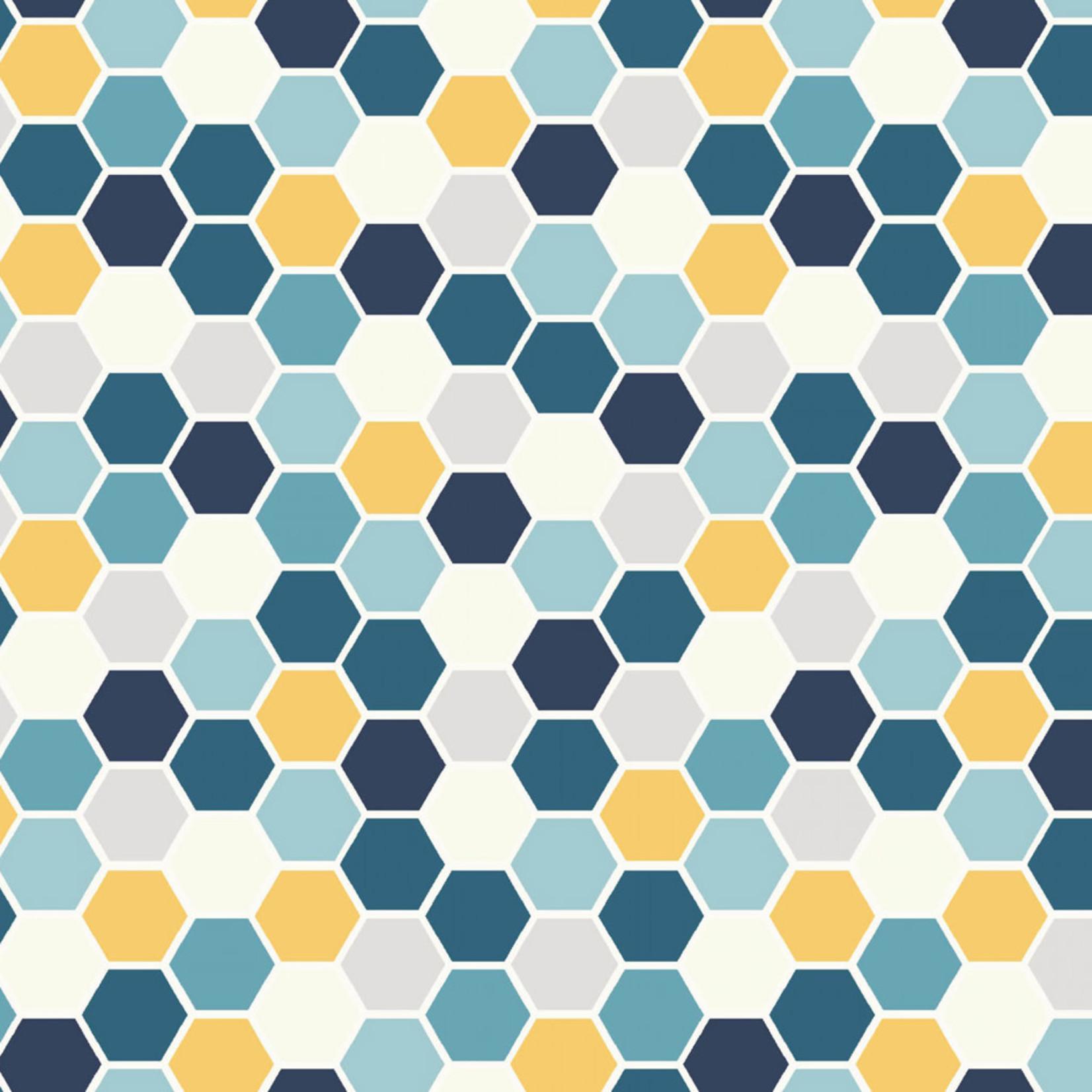 Maywood Studio Make Yourself at Home - Tile -  Blue