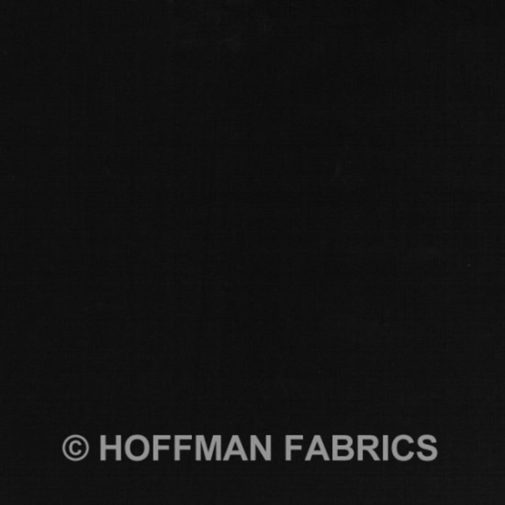 Hoffman Fabrics Watercolors 1895 - 494 Raven