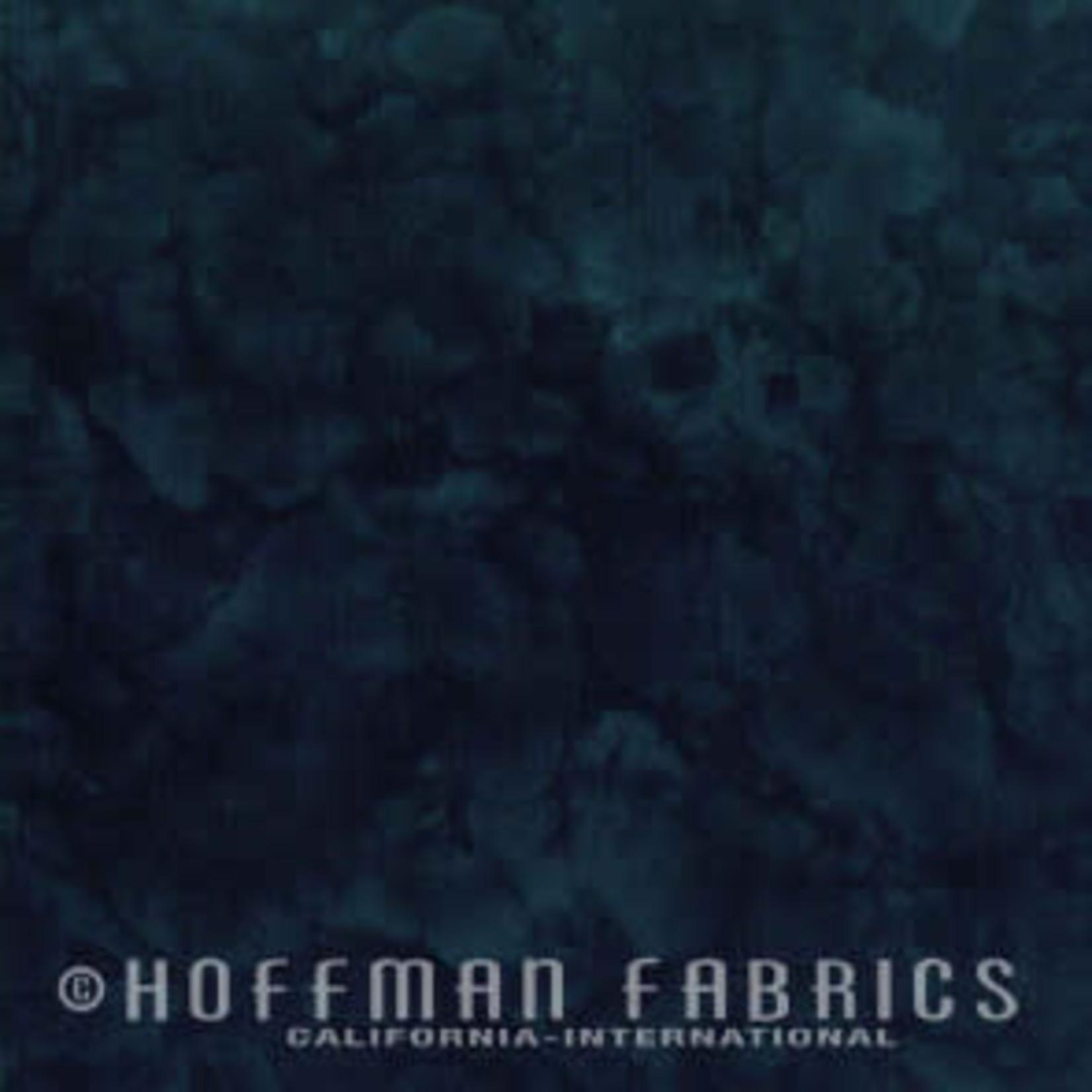 Hoffman Fabrics Watercolors 1895 - 4 Black