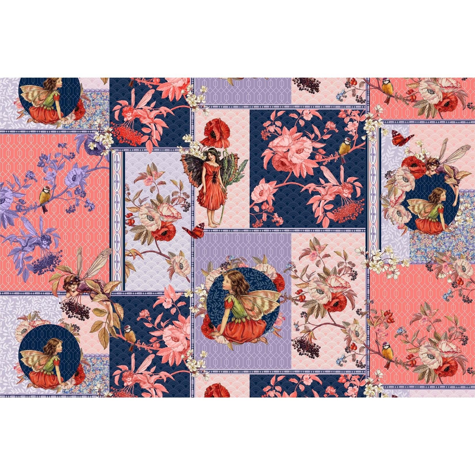 Michael Miller Elderberry Flower Fairies - Collage