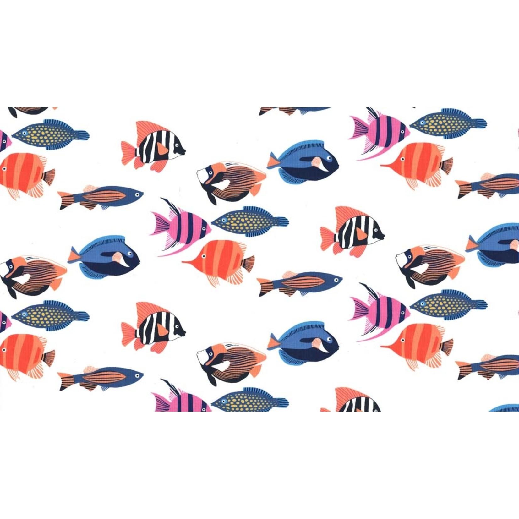 Michael Miller Fishtopia - Fish - White