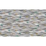 Michael Miller Fishtopia - Waves - Grey