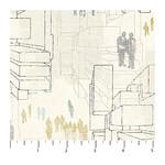 Northcott Urban Grunge - White