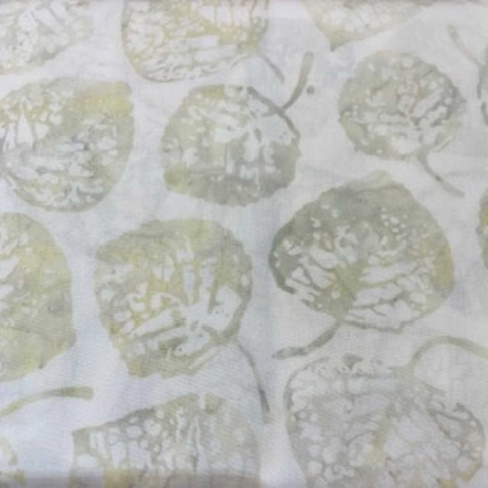 Hoffman Fabrics Bali Batik Leaves 2056 - 265 Oyster